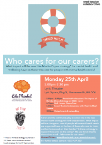 Who cares for our carers flyer