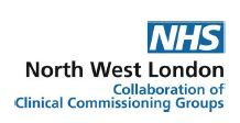 NHS North West London CCG Logo