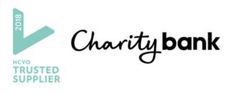 trusted supplier charity bank footer