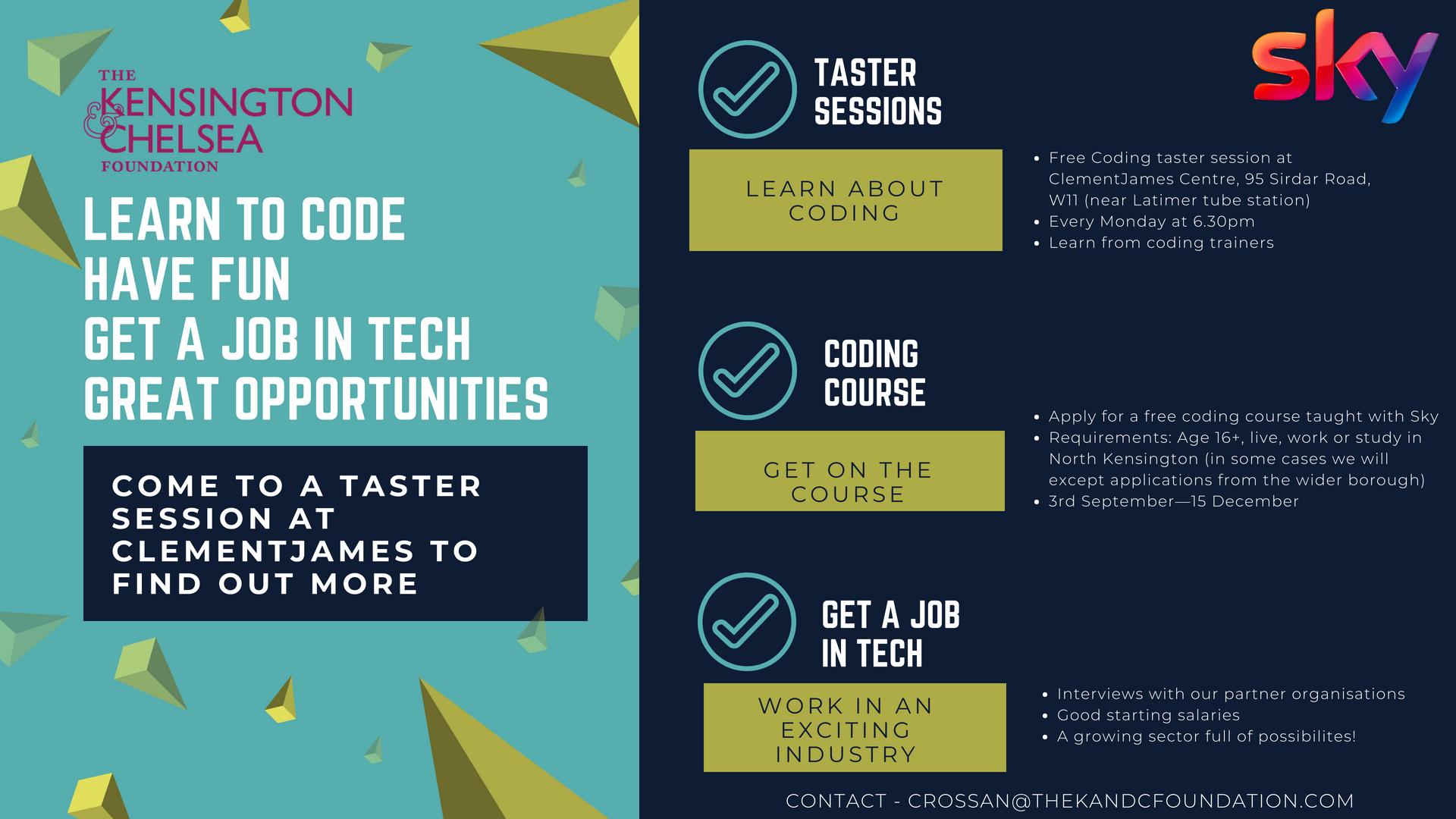 Get into Tech leaflet