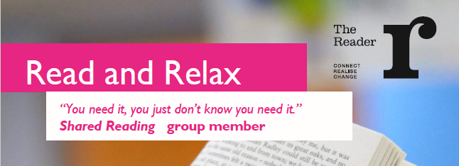 Shared Reading Groups Banner