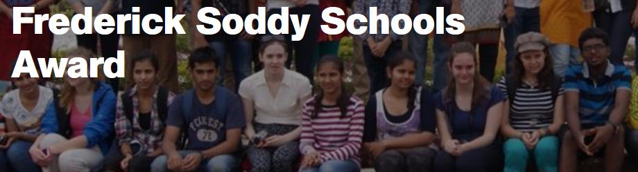 Frederick Soddy Schools Award Banner